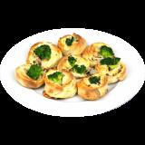 Ofenfrische Pizzabrötchen - Broccoli