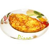 """Pizza Calzone """"Barbarossa"""" (Jumbo)"""