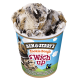 Ben & Jerry´s Cookie Dough S'wich Up