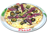 "Pizza ""Beefmaster"""